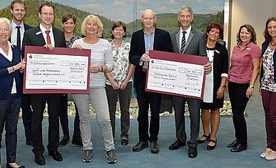 Spende der Sparkasse Gummersbach-Bergneustadt